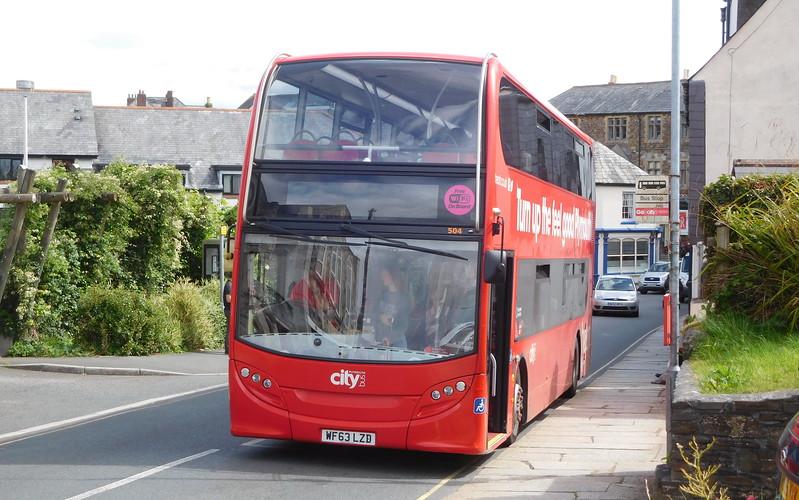 504 - WF63LZD - Launceston (Westgate St)