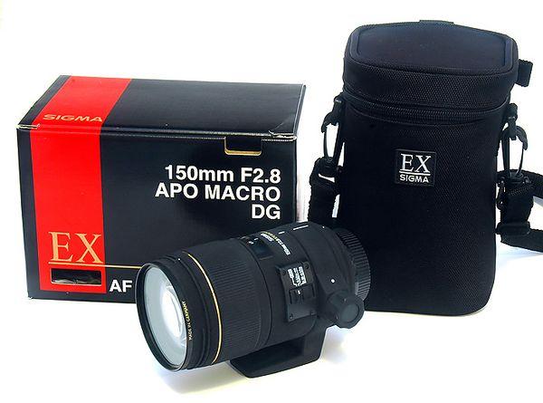 Lens: Sigma 150mm f/2.8 APO Macro DG