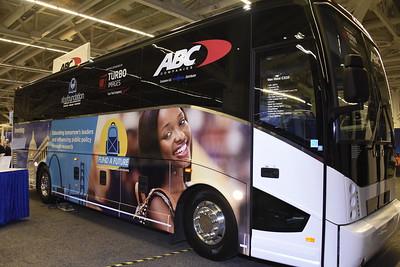 Buses on Marketplace Floor