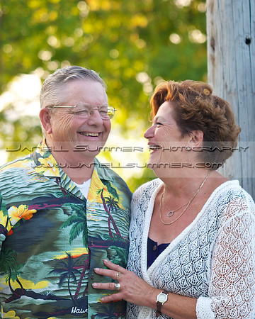 Newlyweds ~ Jerry and Dianne