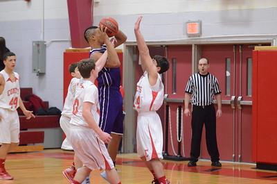 BJV Basketball vs Watertown 1-23-14