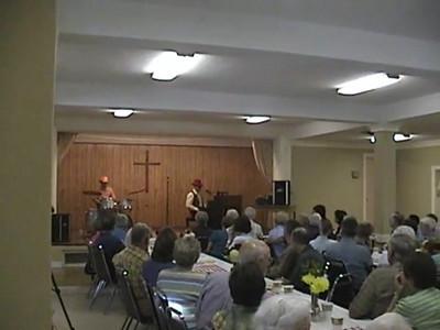 Agape Class BBQ Dinner (Video) - August 2008