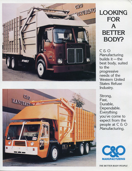 C&O Manufacturing brochure