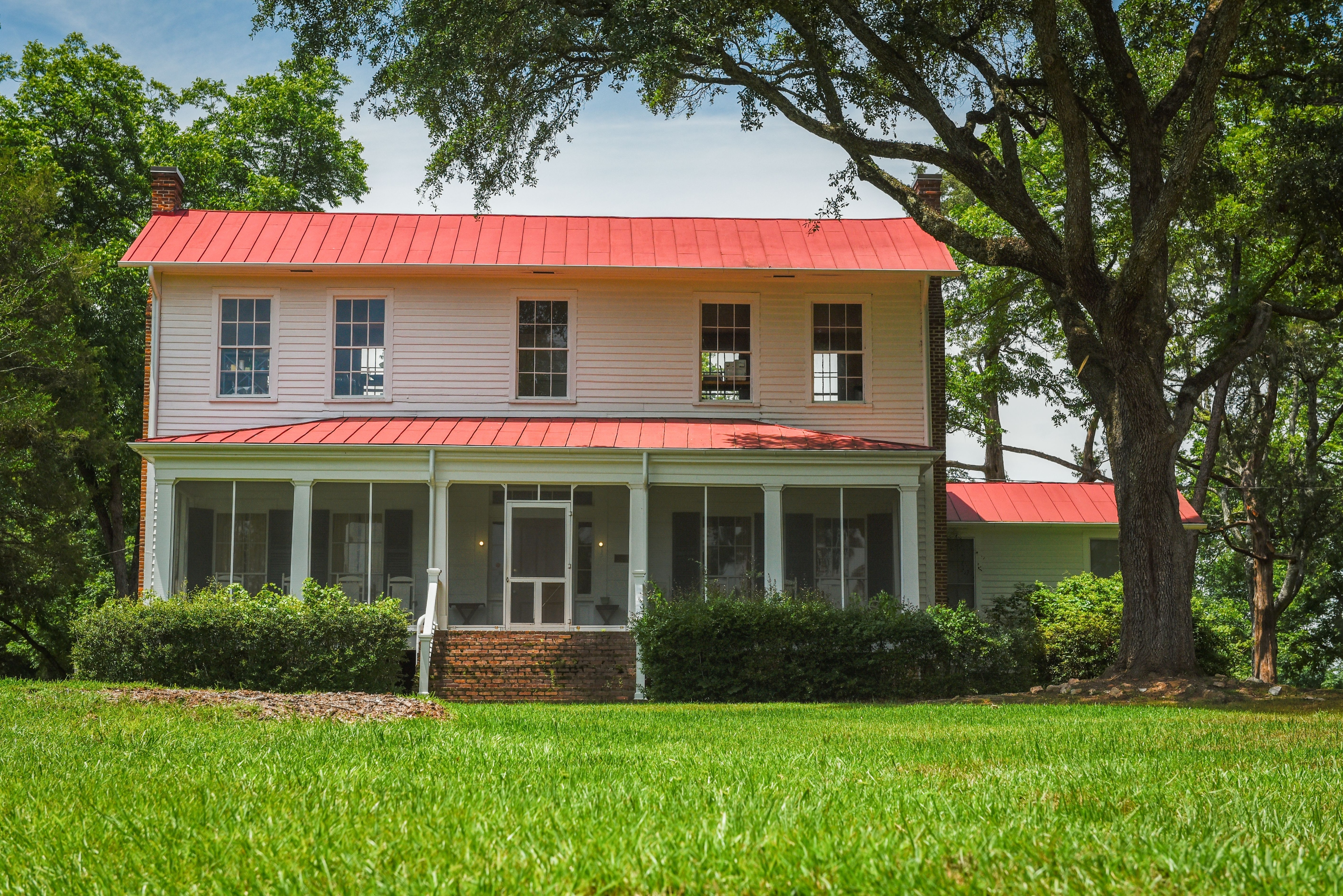Andalusia was home to World-famed Author Flannery O'Connor from 1951 to 1964.