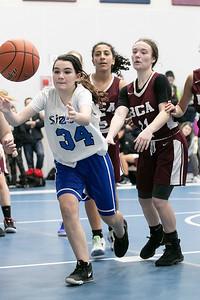 Sizer's Girls Basketball, Jan. 16, 2020