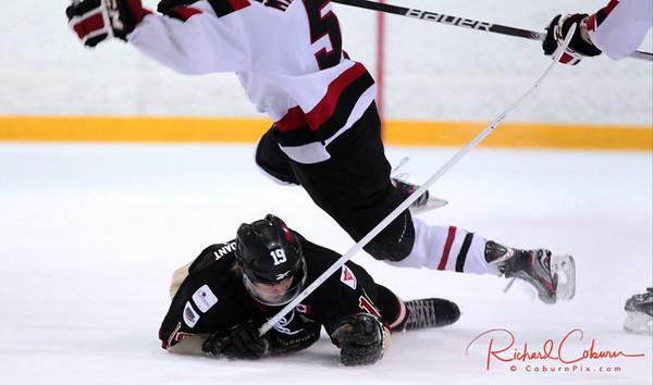 2014-02-18 Shield vs Mattawa Voyageurs