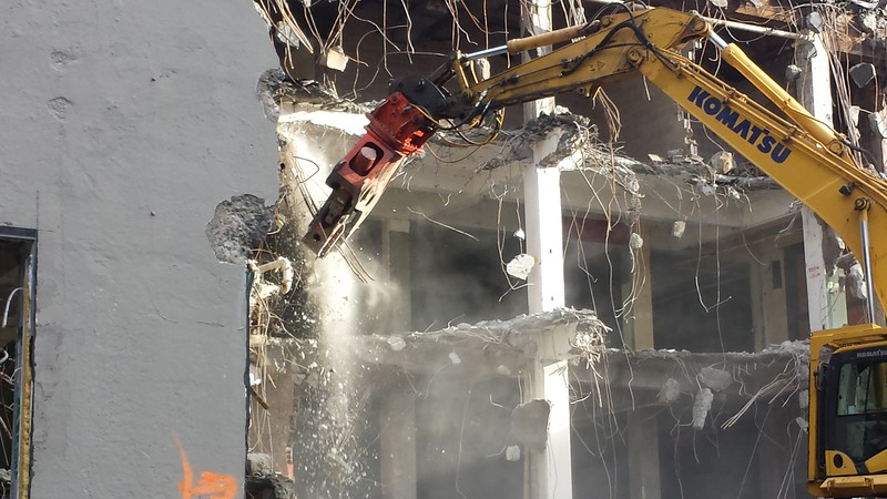 NPK U45JR concrete pulverizer on Komatsu excavator - commercial demolition (8).jpg