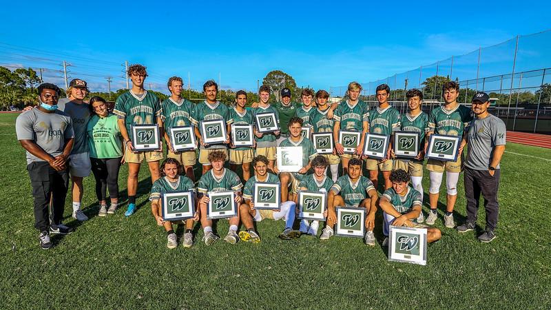 Westminster Christian School Lacrosse Senior Day, 2021