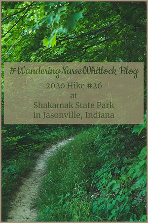 2020 Hike #26 on June 13th at Shakamak State Park in Jasonville Indiana (Trail 1)