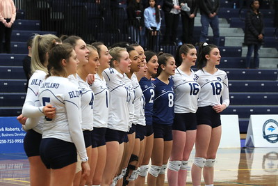 VIU Volleyball vs Capilano (February 9, 2020)