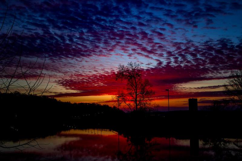 2.21.19 - Prairie Creek Marina: First Light