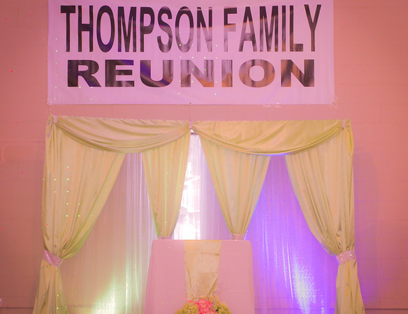 Thompson Family Reunion 2016