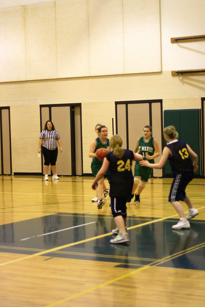 St Maries 8th grade girls vs genesis