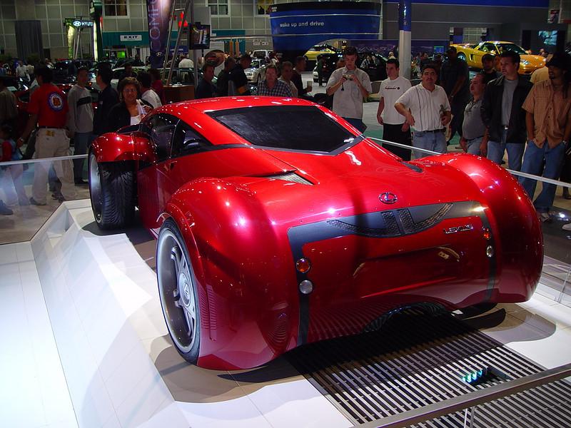 Lexus concept car from Minority Report movie