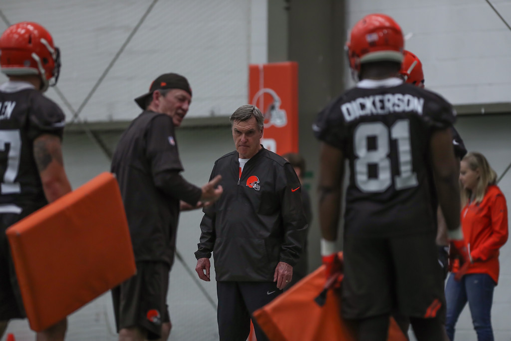 . Tim Phillis - The News-Herald Action from Browns rookie minicamp May 4.