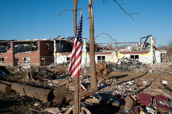 Henryville Tornado aftermath