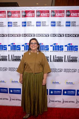 LA Femme Film Festival red carpet