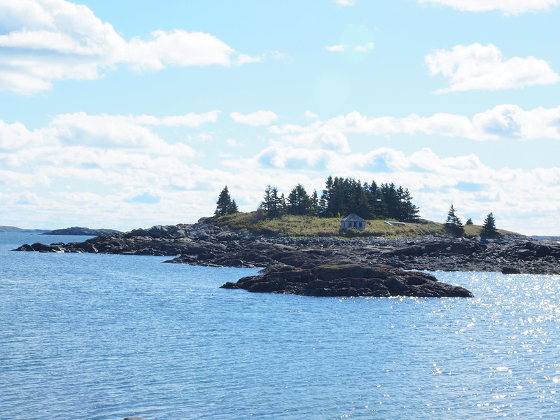 View from one of the parks we visited on Vinalhaven