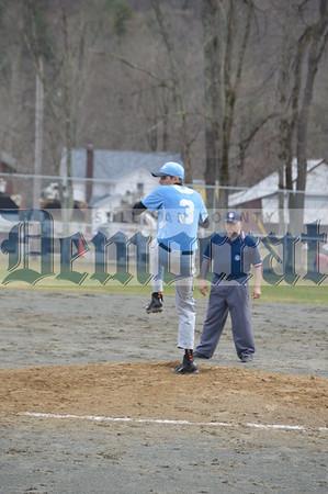 Sullivan West vs Livingston Manor Baseball