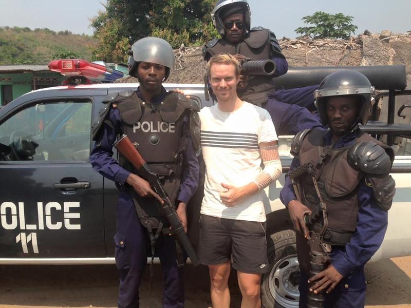 Benjamin und die Polizei