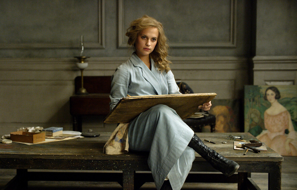 ". This image released by Focus Features shows Alicia Vikander in a scene from ""The Danish Girl.\"" Vikander was nominated for an Oscar for best supporting actress on Thursday, Jan. 14, 2016, for her role in the film. The 88th annual Academy Awards will take place on Sunday, Feb. 28, at the Dolby Theatre in Los Angeles. (Focus Features via AP)"