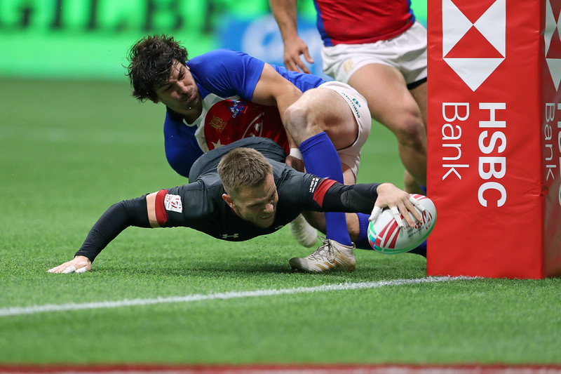 Wales Rugby Men 2019 HSBC Rugby Sevens World Series Vancouver