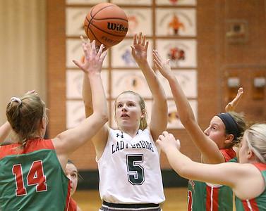 St. Bede vs L-P Girls Basketball