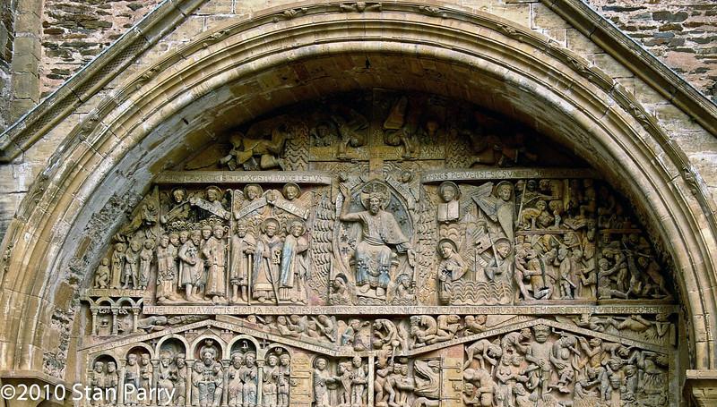Abbey Church of Saint Foy Tympanum Last Judgment