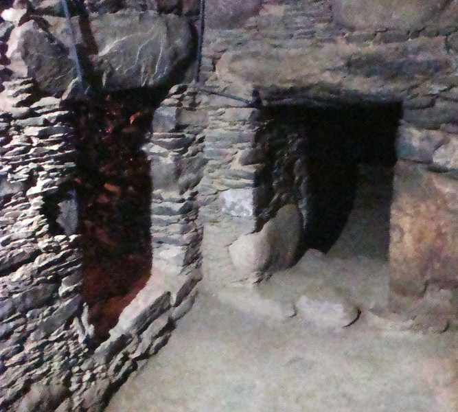 I keen student of Indianna Jones' 'Temple of Doom' etc, I enthusiastically explored all the tunnels.