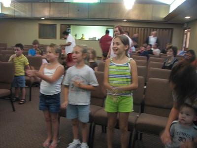 Mt. Pleasant Church of the Nazarene,  Mt. Pleasant TX, June 2008
