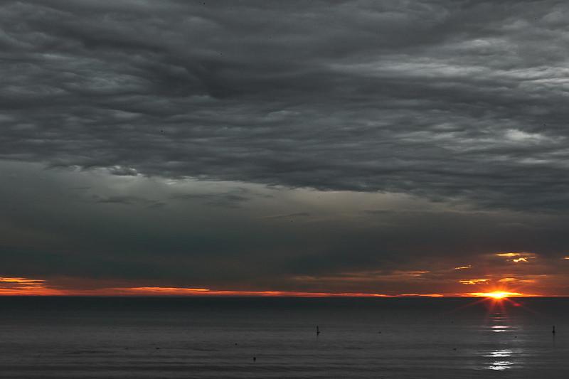 January 11 - Pacific Ocean sunset