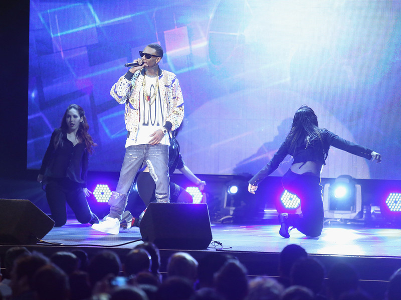 . Rapper Soulja Boy performs onstage at the 3rd Annual Streamy Awards at Hollywood Palladium on February 17, 2013 in Hollywood, California.  (Photo by Frederick M. Brown/Getty Images)
