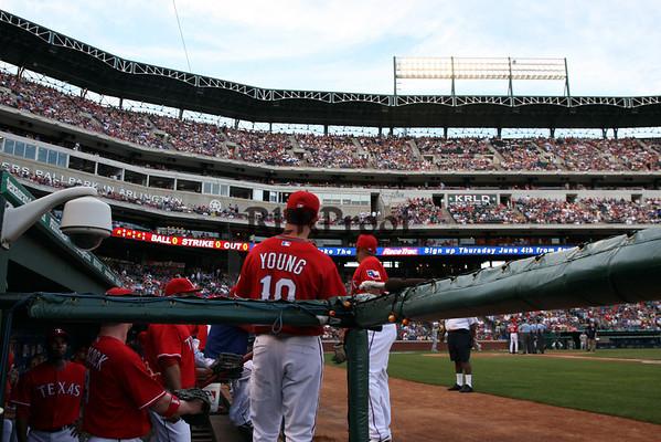 Texas Rangers vs Oakland A's May 30, 2009