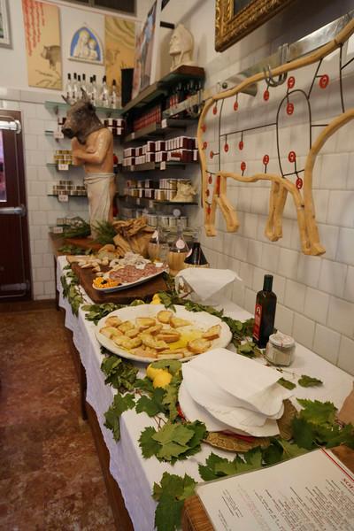 Dinner at Solociccia in Panzano in Chianti, Oct 10, 2013
