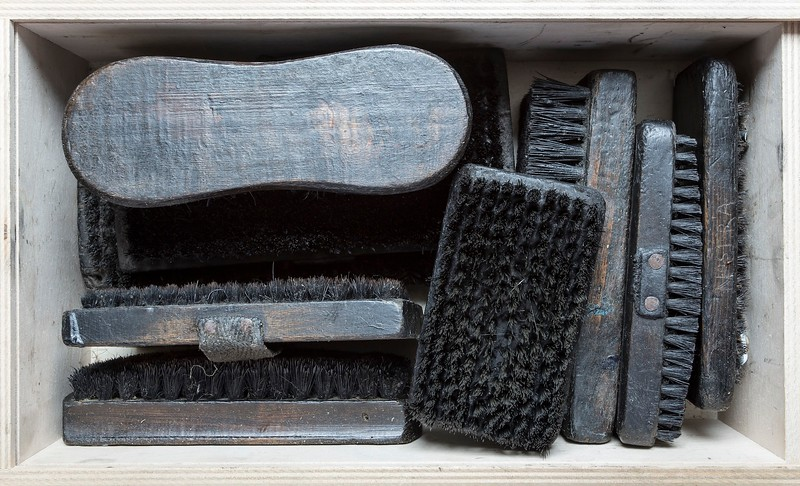 Black-Horsehair brushes and metal-wire brushes are essential to obtain a clear print.