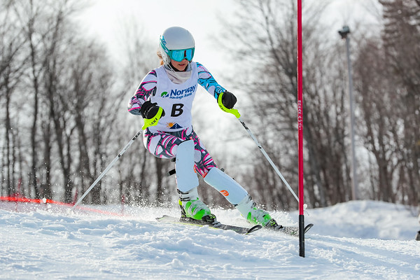 Slalom: Girls 2nd Run