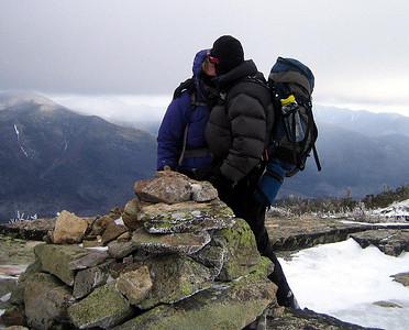 ** Bob&Geri finish the winter NH48 on Bondcliff: March 5 **