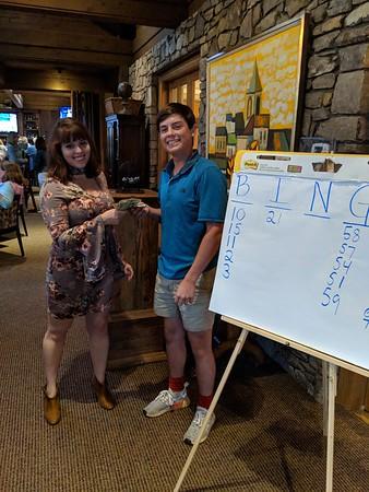 Bingo Night & a la carte Dinner - July 7, 2018