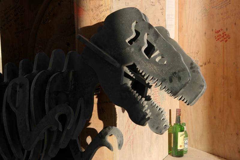 T. Rex needs a drink