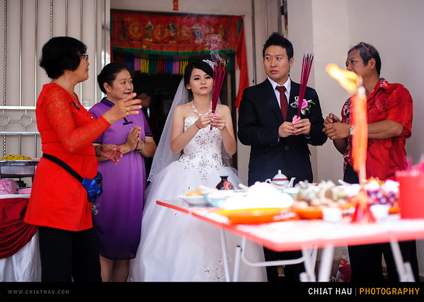 Kee Woon + Yu Tin Actual Day Wedding - Morning Session