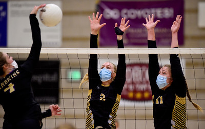 Photos: Monarch Vs. Fort Collins Volleyball 10/7/21