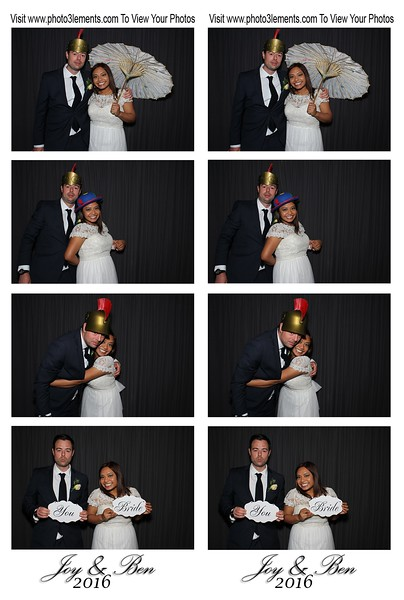 Joy & Ben's Wedding 4-2-16
