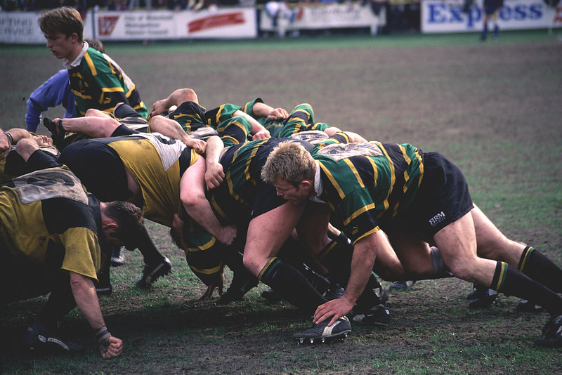 Wakefield vs Northampton, Courage League Division 2, 1995-96 Season