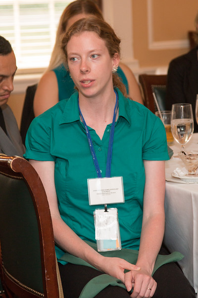 Allison Willingham-Evans (2009 Scholar) -- 2016 Dr. John Mather Nobel Scholars Program Award  luncheon, held at the Hopkins Club, Johns Hopkins University, Baltimore, MD, July 26, 2016.