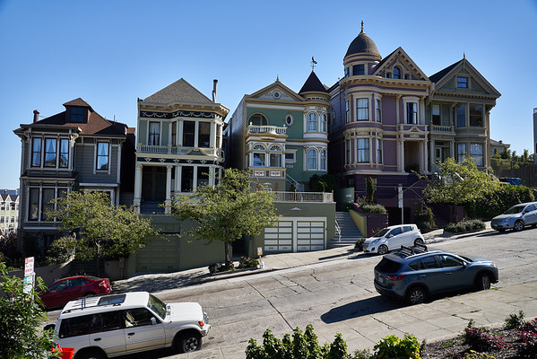 Alamo Square painted ladies San Francisco 2.17.2018