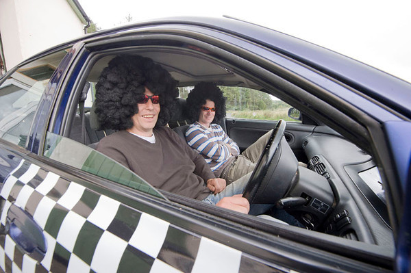 Scally Rally, Tim & Mike