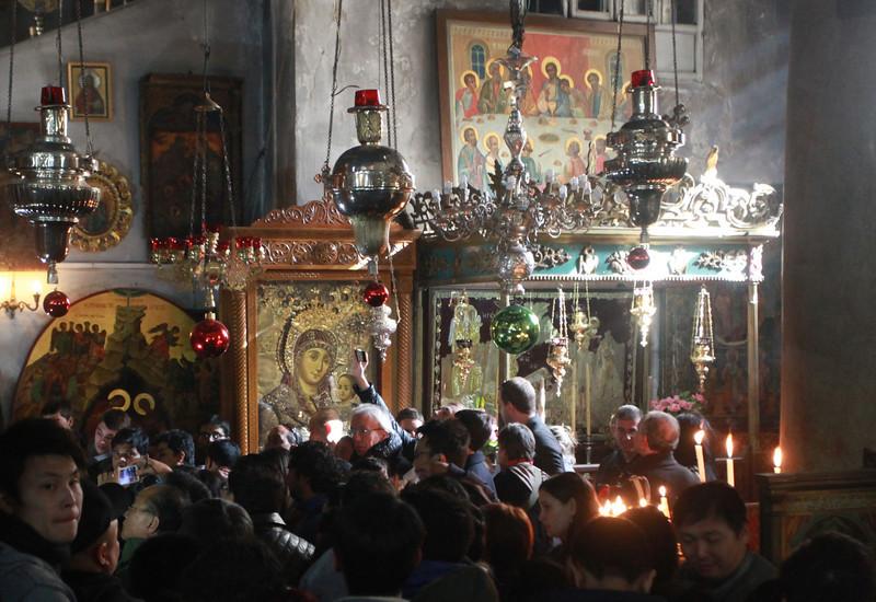 Christmas Day, Church of the Nativity, Bethlehem