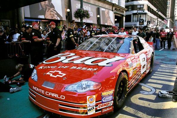 2002 Bravest vs Finest Nascar Pit race