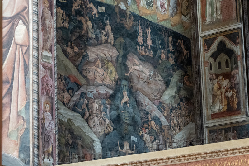 Fresco in Basilica di San Petronio
