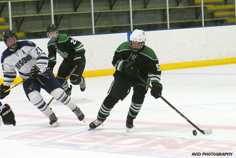 Okotoks Oilers  VS Foothills Bisons Midget AA Dec8 (146).jpg